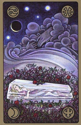 Карта Спящая красавица